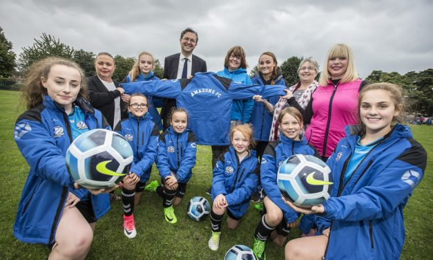 Women's football club wrapping up for winter