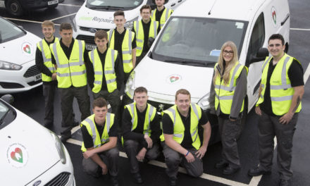 Housing company apprentices off to a flying start