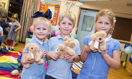 If you go down to the woods today… 5* housebuilder celebrates National Teddy Bear Day with local primary school!
