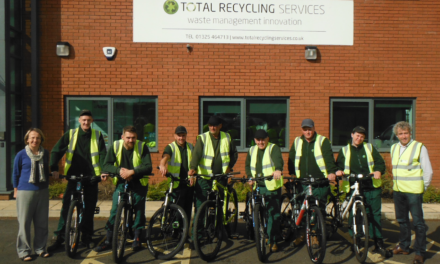 Total Recycling Services Bike to Work