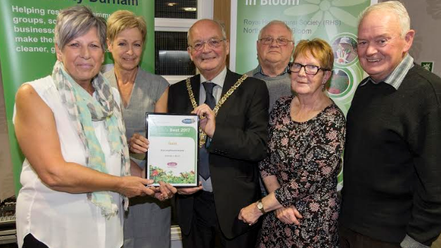 Gardeners recognised in Chester's Best competition
