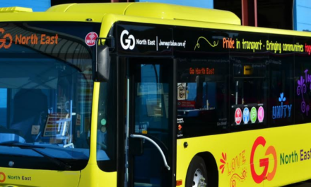 Proudly driving diversity – Go North East officially unveils second Pride bus at Sunderland celebration