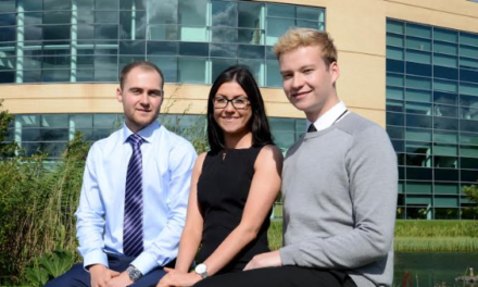New Graduate Trainees Step onto Career Ladder with Newcastle Building Society