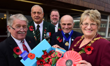 City Support for Poppy Appeal