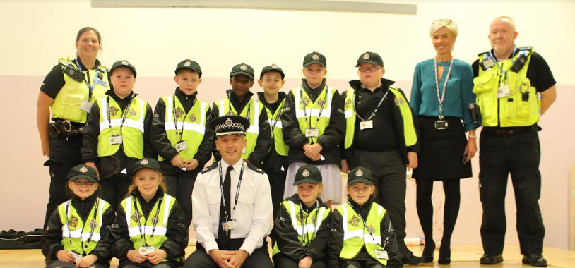 Academy 360 Mini Police reporting for duty