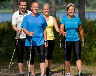 Have a go at Nordic Walking