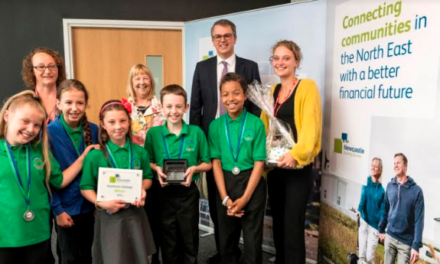 Carnival Time for Throckley Schoolkids after Victory in Newcastle Building Society Boardroom Charity Challenge