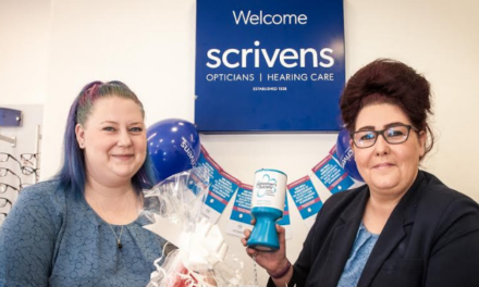 Bishop Auckland opticians supports Alzheimer's Society