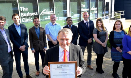 University Business Clinic receives prestigious seal of approval