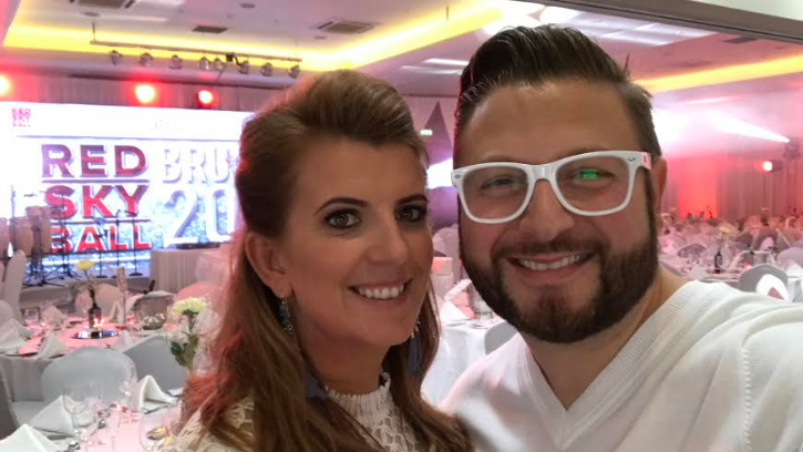 Charity event a white hot success