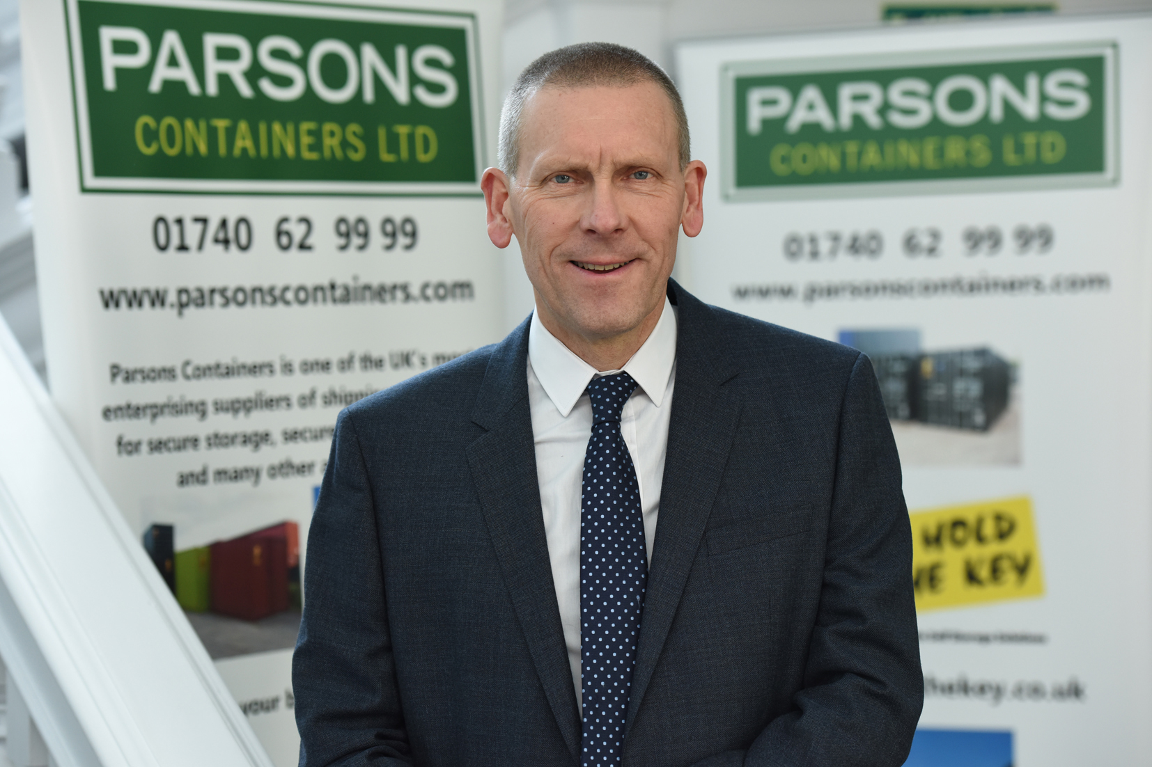 Ean Parsons, managing director of the Parsons Containers Group