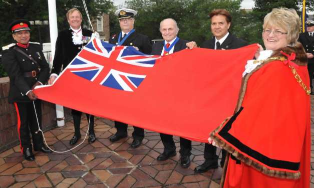 Raising The Red Ensign