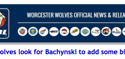 Wolves look for Bachynski to add some bite