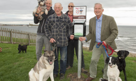 Free dog waste bag dispensers to stop foul play