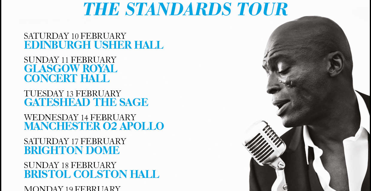 Sage Gateshead announces date on Seal 'Standards' tour