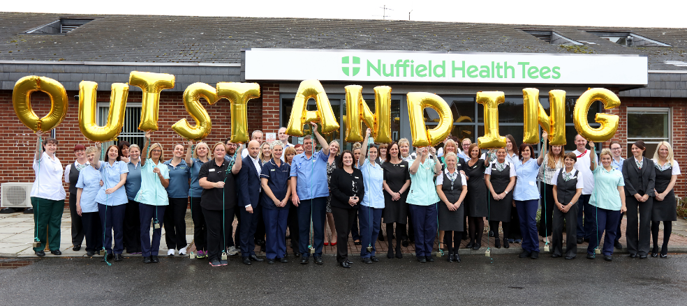 Outstanding achievement for Teesside hospital