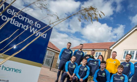 North East Football Clubs Score Support from Miller Homes