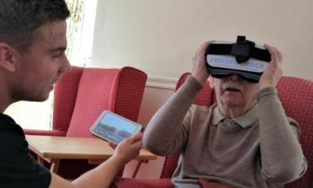 Virtual reality therapy aids North East care home residents