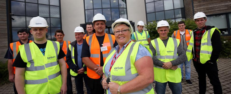 Funded training course provides unemployed with career path in construction