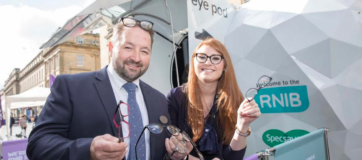 The Eye Pod comes to Newcastle