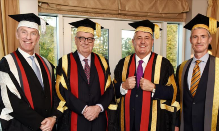 New Chancellor officially takes up role at Teesside University