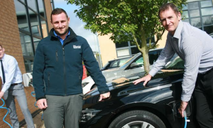 Environment conscious contractor installs charging points