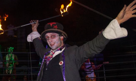 Prepare to be scared at Wharton Park this Halloween