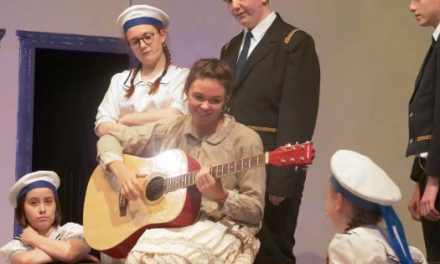 Students perform The Sound of Music
