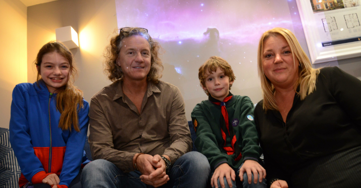 Out of this world! Local housebuilder celebrates World Space Week with astronomy evening