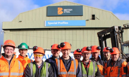 AV Dawson wins British Steel Health & Safety Award
