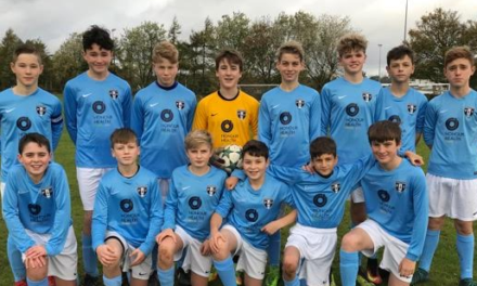 Ponteland dental practice raises smiles for young footballers