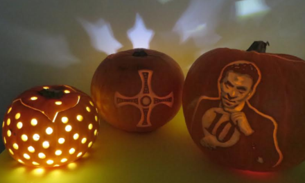 Pumpkins help promote Strictly St Cuthbert's