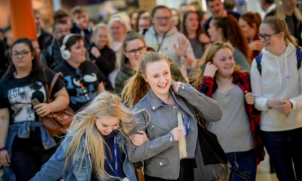 Students bag bargains at Sunderland shopping event