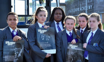 Young Writers Share their Talents with Newcastle Bus Passengers