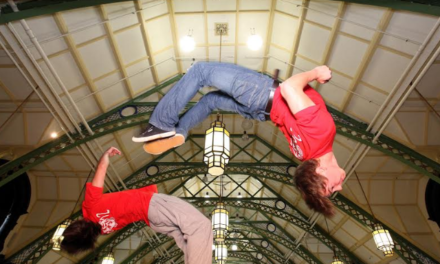 Newcastle entrepreneur freerunning to success