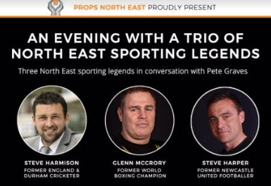 A Trio of Sporting NE legends Join Forces to Fundraise for PROPS NE charity