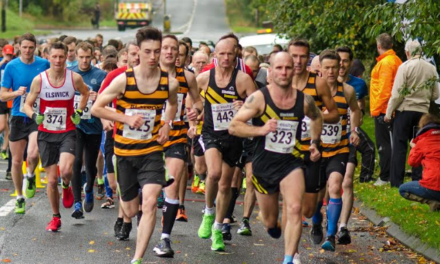 Record numbers turn out for town's heritage race
