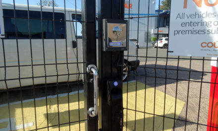 ievo Provide Biometric Access Control for Security Monitors