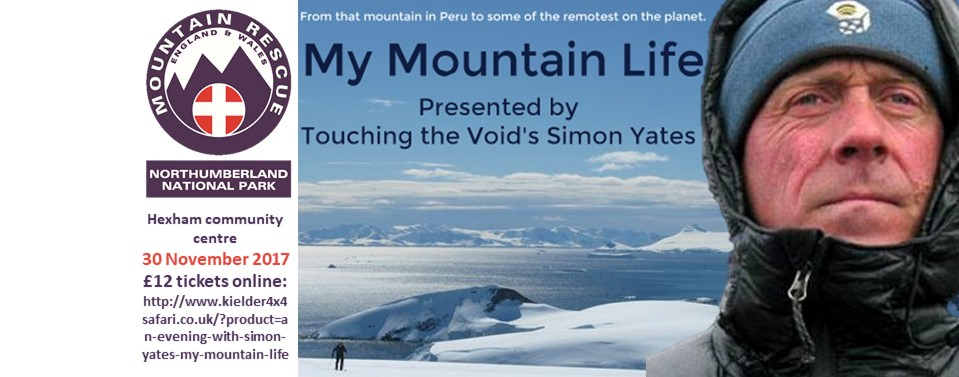 An evening with Simon Yates (Touching the Void)