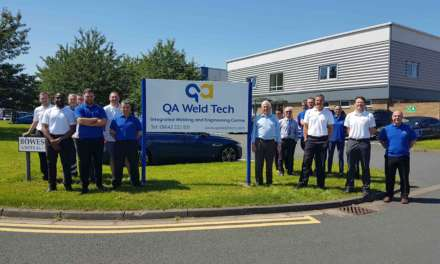 North East Welding and Engineering Company Engages in Training Programme