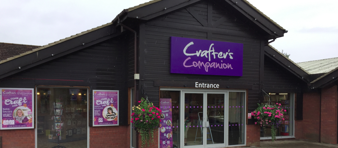 Crafter's Companion launches third store and enjoys record footfall