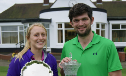 Tynemouth golfing couple are just champion