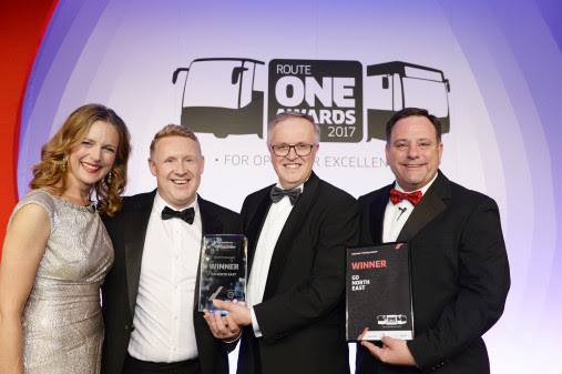 Go North East motors on to victory with national award acclaim