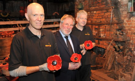 William Lane and Materials Processing Institute combine to develop Remembrance Day tributes