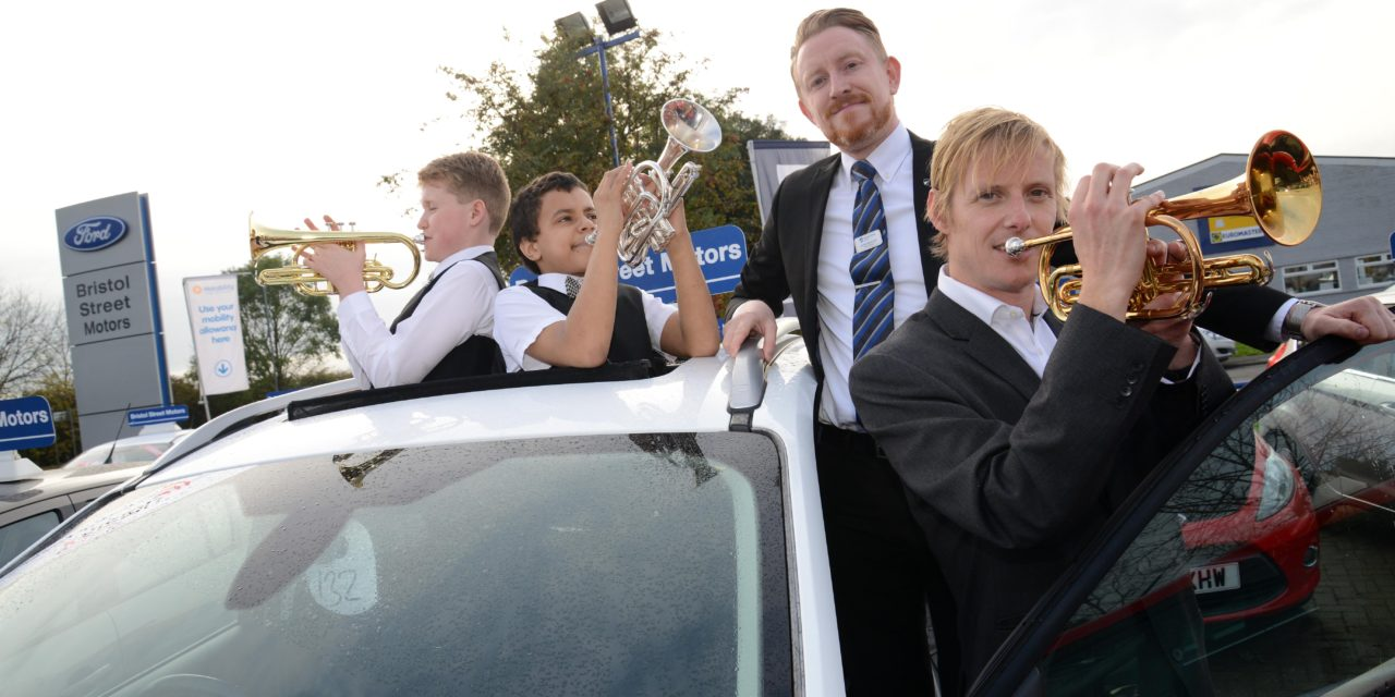 Bedlington Brass Band hits a high note with support from Bristol Street Motors