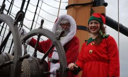 Christmas comes early at National Museum of the Royal Navy Hartlepool!