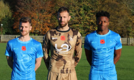 Hartlepool United Unveil One-Off Poppy Shirt