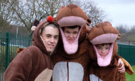 North East families embrace the festive spirit as they take on charity Reindeer Run