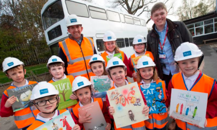 Story Homes supports school's drive to change lives through reading