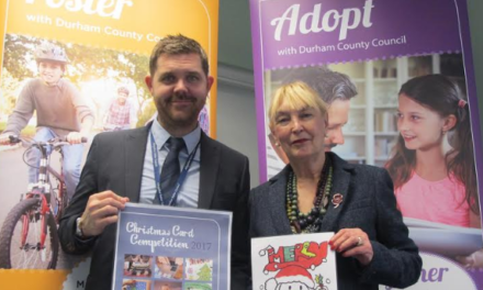 Looked after children's Christmas card competition